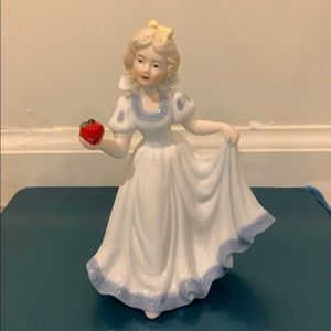 Porcelain Snow White figurine